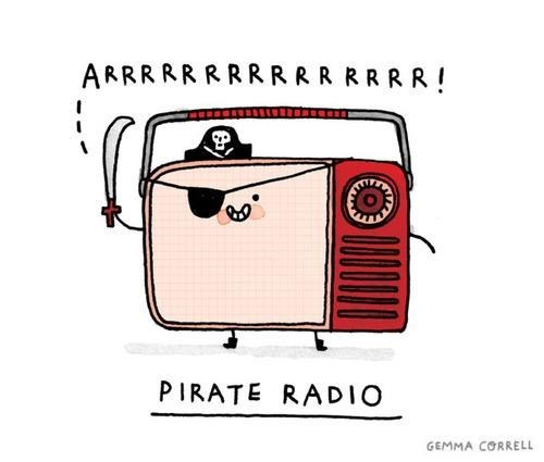kawaii pirate radio pirates pun - 6450882560