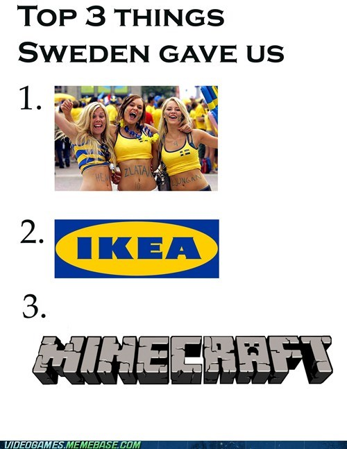 ikea minecraft Sweden the internets - 6451157504