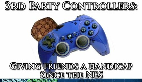 3rd party controllers,controllers,meme,scumbag,turbo button