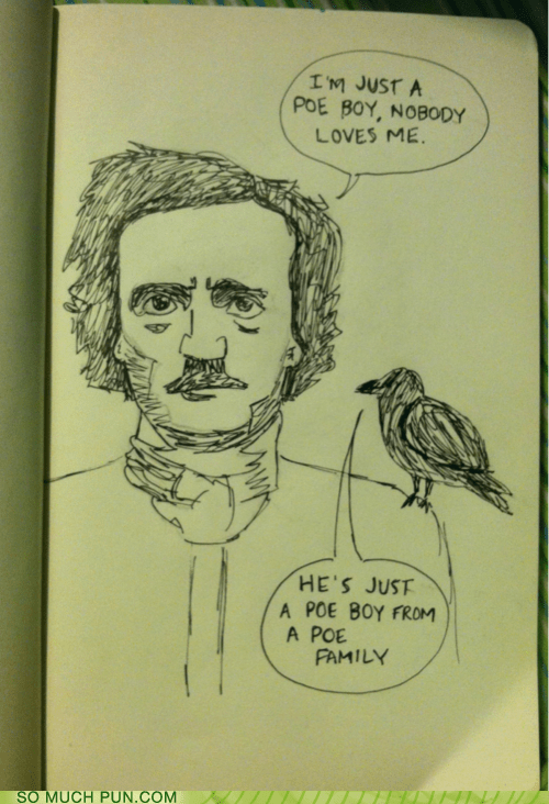 bohemian rhapsody Edgar Allan Poe Hall of Fame literalism lyrics poe poor queen similar sounding slang - 6451220736