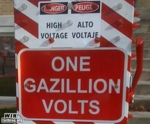 danger notice sign volts warning - 6451546624