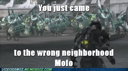 halo hunters meme mgalekgolo wrong neighborhood - 6451549184