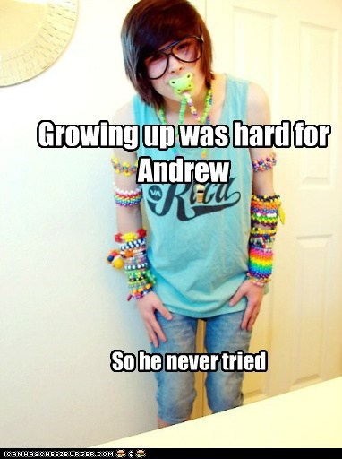 forever young growing up raver weird kid
