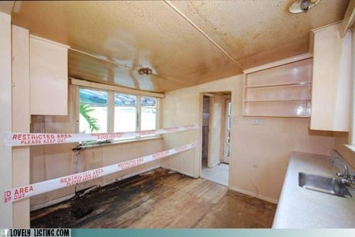 burned dangerous fire floor kitchen rot - 6452253184