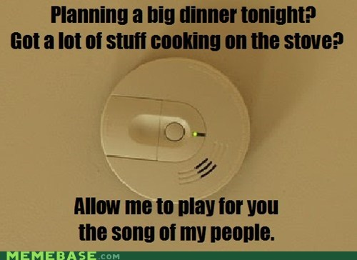 classic fire alarm Memes smoke detector song of my people - 6452422144