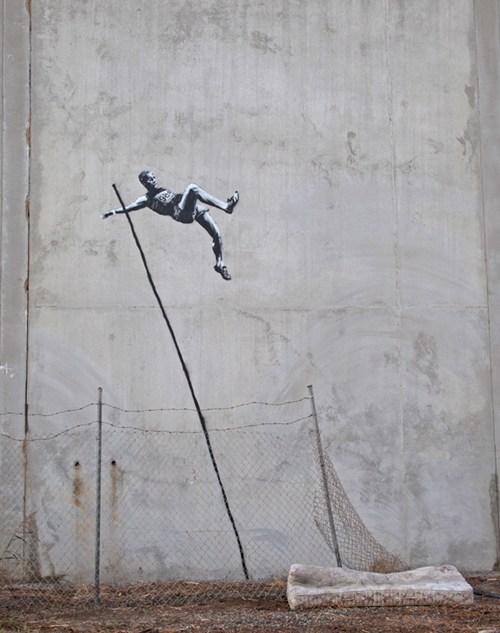 banksy olympics Street Art - 6452455680