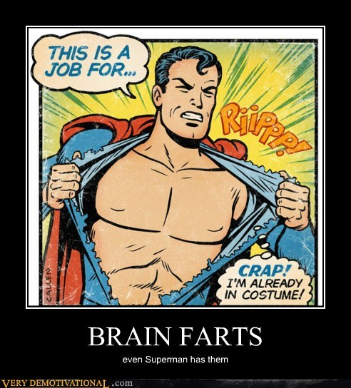 brain fart costume Super-Lols superman - 6452520448