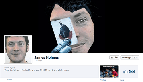 colorado shooting facebook tribute page james holmes this is all kinds of wron