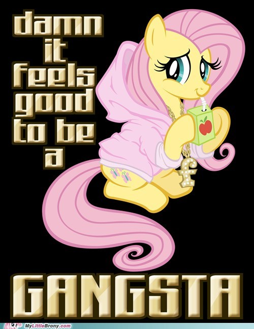 damn it feels good to be fluttershy ghetto meme - 6452950528