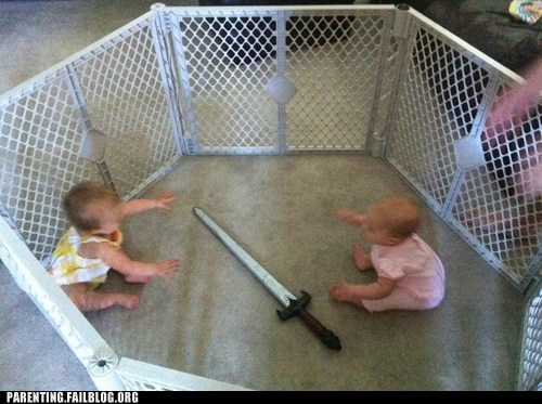 Two Babies Enter, Only One Shall Escape