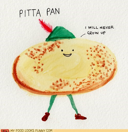 bread peter pan pita young