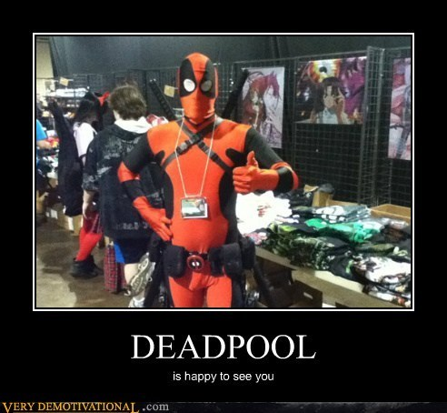 costume deadpool Pure Awesome sdcc 2012 - 6453448704