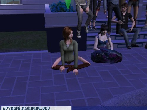 party hard,the sims 3