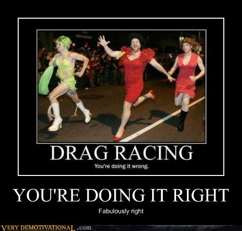 cross dressing drag Pure Awesome race - 6453937152