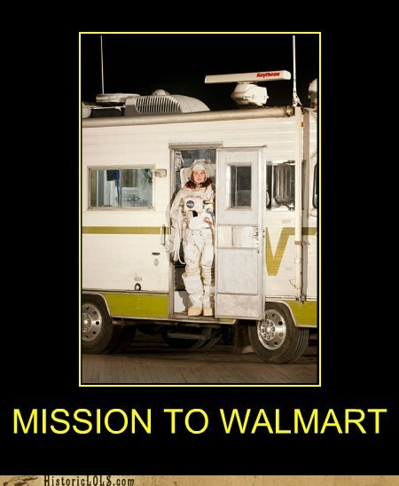 rv,space suit,wal mart,winnebago,woman