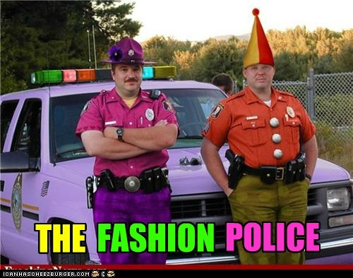 THE FASHION POLICE