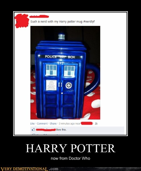 Harry Potter tardis nerd - 6454406400