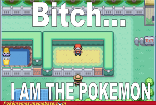 gameplay i am a pokemon Pokémon wtf - 6454461696