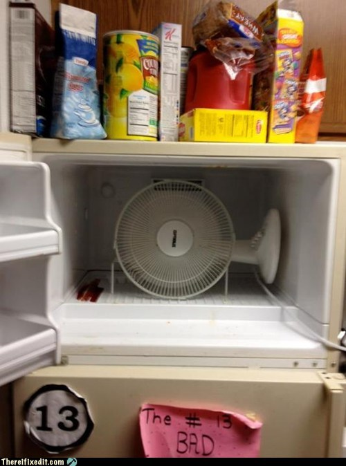 ac,air conditioning,college,college student,fan,freezer,fridge,refrigerator
