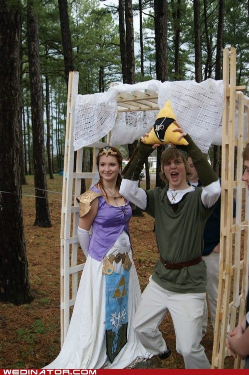 funny wedding photos,geek,video games,zelda