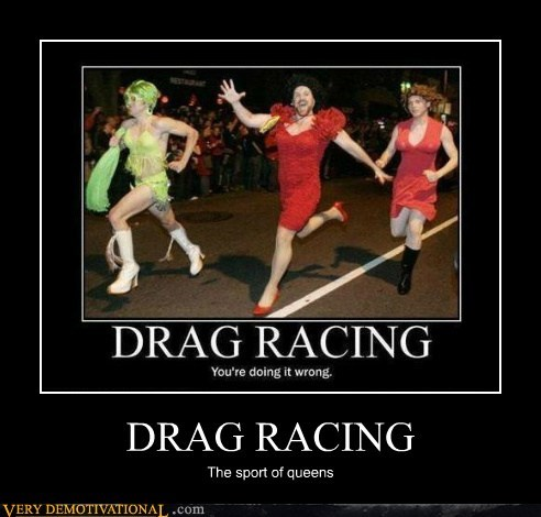 drag hilarious queens racing