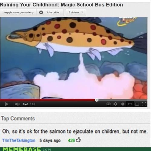 fish pedobear Ruined Childhood spunk youtube - 6455371520