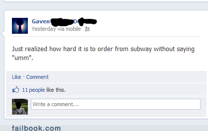 food,ordering,Subway