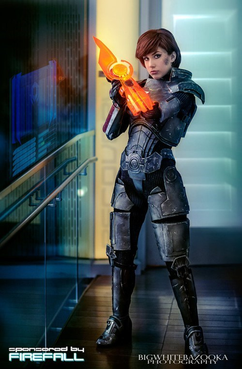 cosplay femshep mass effect video games - 6455636224
