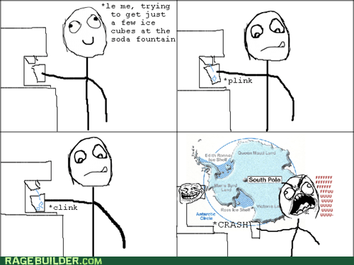 cold,fu guy,ice,Rage Comics