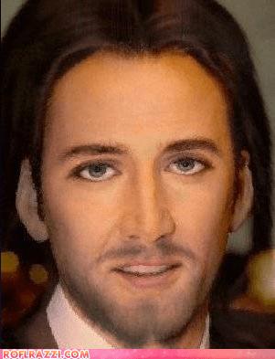 face funny jesus morph nic cage nicolas cage shoop - 6455823616