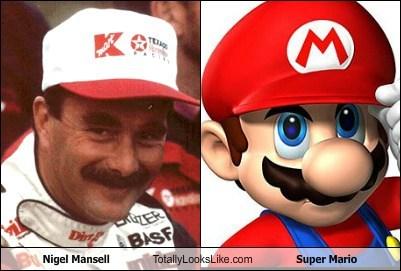 funny mario nigel mansell super mario TLL - 6455825152