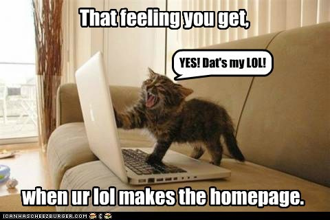 captions,Cats,cheezburger,homepage,ichc,laptop,meta