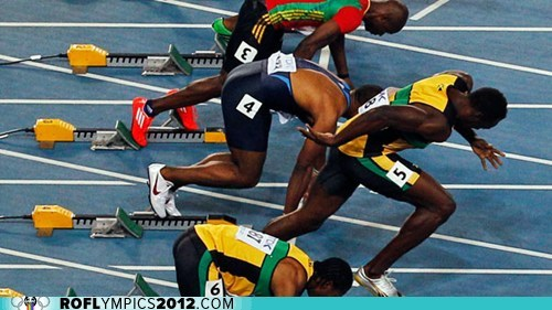 change false start London 2012 olympics rules running Track and Field - 6455896320