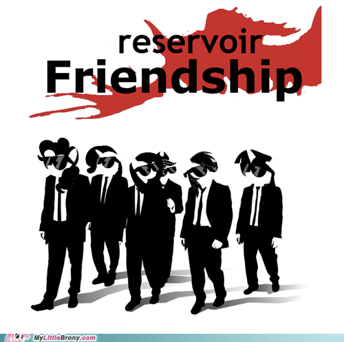 crossover,friendship,Reservoir Dogs