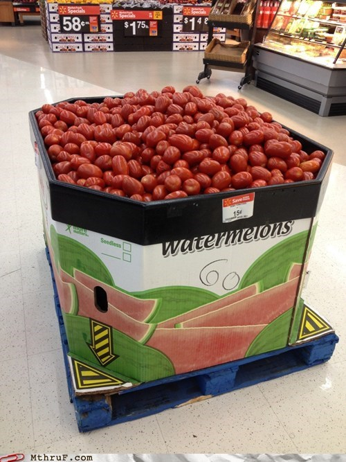 tomatoes,watermelons