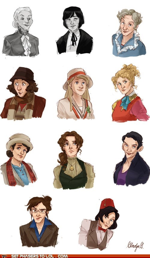 best of the week,doctor who,Fan Art,female,gender swap,regenerations,the doctor