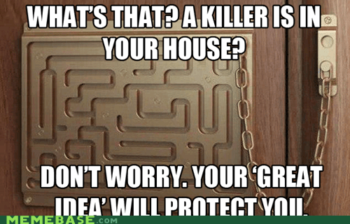 door house killer lock Memes safety - 6456070656