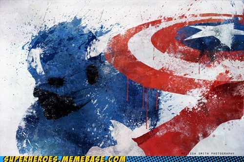 Awesome Art captain america painting splash - 6456130816