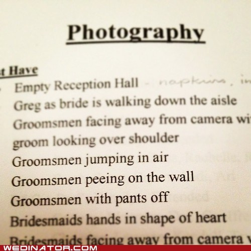 funny wedding photos photographer wedding party weird - 6456157696