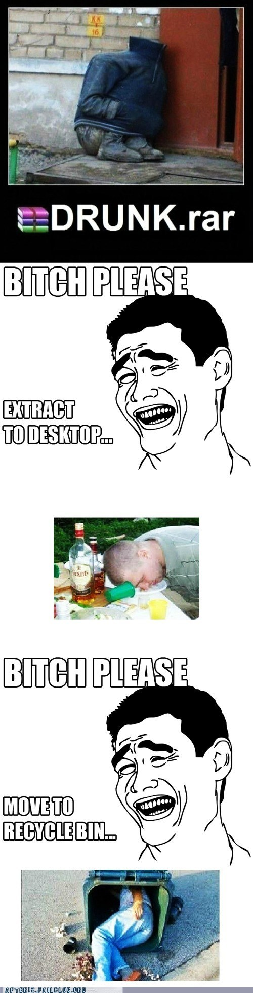 desktop drunk rar drunk.rar microsoft recycle bin windows WINRAR - 6456191488