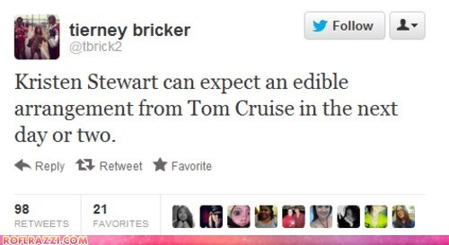 celeb funny kristen stewart scandal tweet twitter - 6456287488