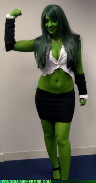 cosplay,femme,hulk,rule 63,she hulk