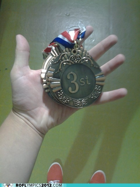 3rd place,derp,FAIL,London 2012,medal,olympics