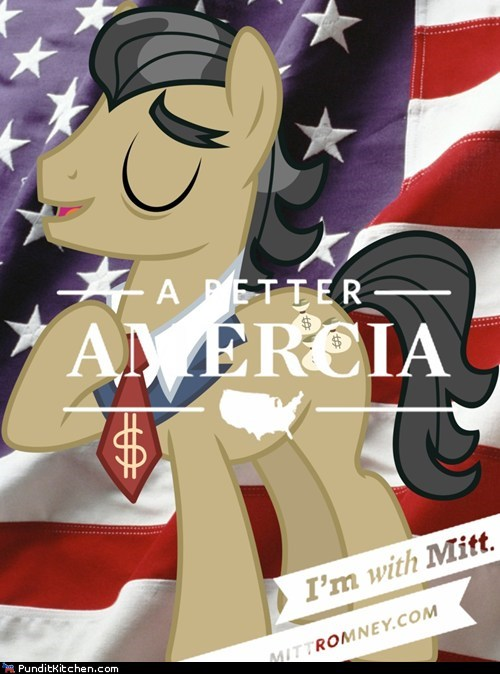 Mitt Romney my little pony political pictures ponies - 6456357376