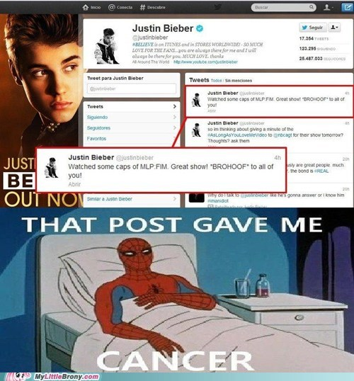 best of week brohoof IRL justin bieber oh god post gave me cancer twitter - 6456388608