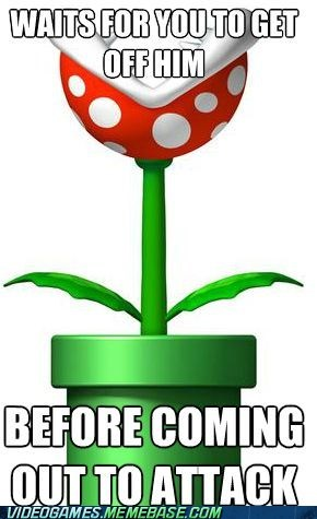 good guy mario meme Piranha Plant - 6456453376