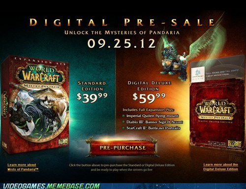 expansion,mists of pandaria,PC,release date,world of warcraft