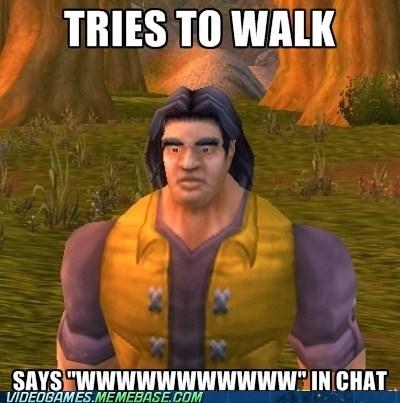 chat meme noob WoW player PC walk world of warcraft WoW wwwww - 6456463872