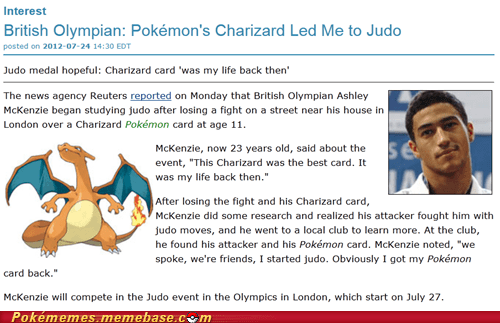 best of week charizard IRL judo news Pokémemes the olympics