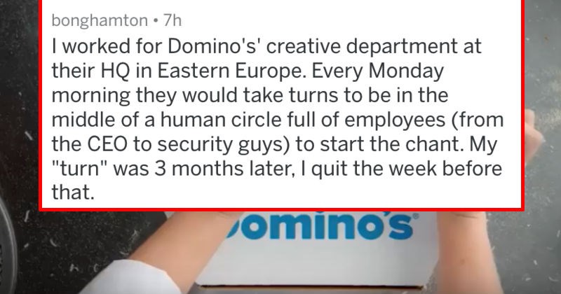 customer service job pizza dominos work coworkers askreddit - 6456581